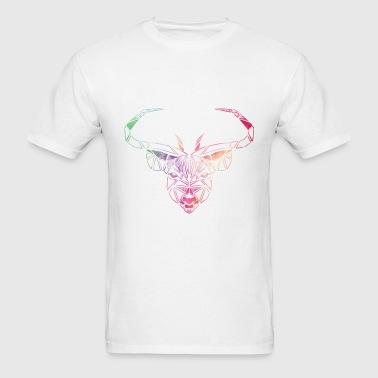Vintage Deer - Art - Men's T-Shirt