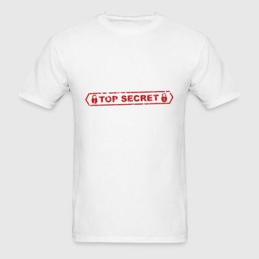 top secret - Men's T-Shirt
