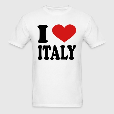 I Love Italy - Men's T-Shirt
