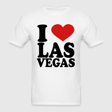 I Love Las Vegas - Men's T-Shirt