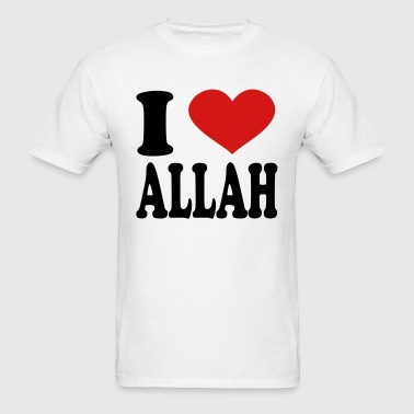 I Love Allah - Men's T-Shirt
