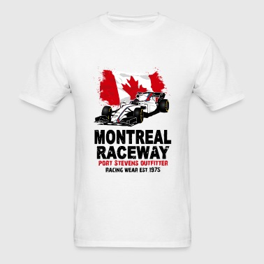 Formula One - Formula 1 - Canada Flag - Men's T-Shirt
