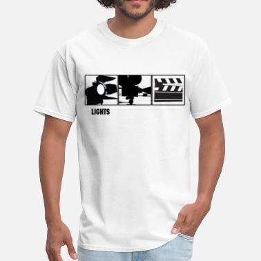 Camera Lights Camera Action  - Men's T-Shirt