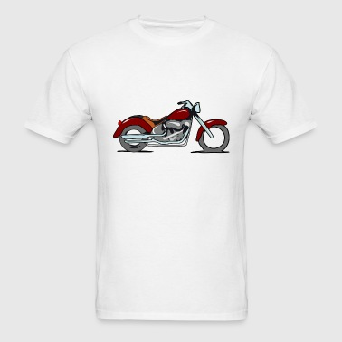 motorcycle- - Men's T-Shirt