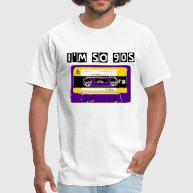 90s cassette tape 3 - Men's T-Shirt