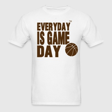 EVERYDAY IS GAME DAY BASKETBALL™ - Men's T-Shirt