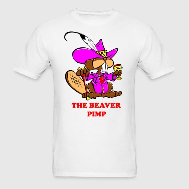 The Beaver Pimp - Men's T-Shirt