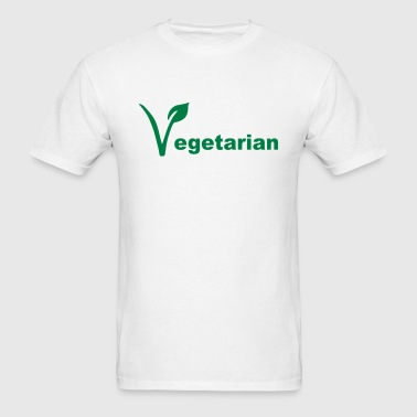 Vegetarian - Men's T-Shirt