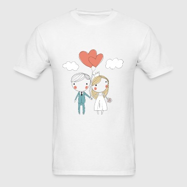 Wedding 09 - Men's T-Shirt