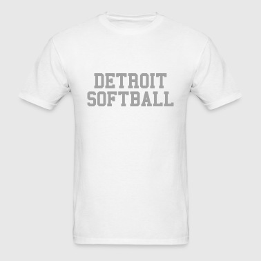 Detroit Softball - Men's T-Shirt