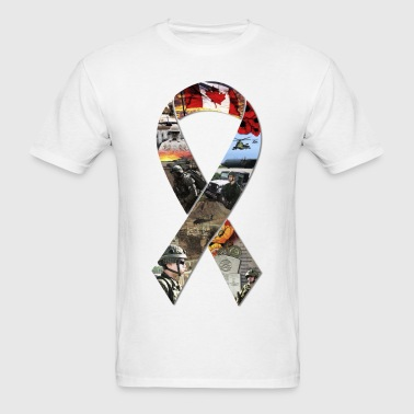 Ribbon Collage - Men's T-Shirt