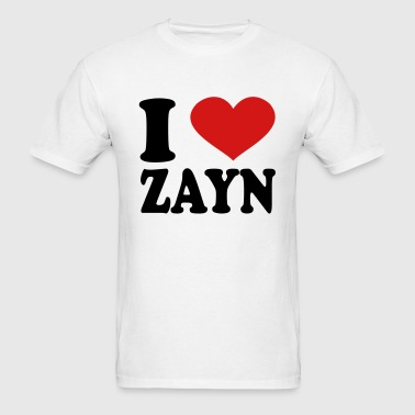 i love zayn - Men's T-Shirt
