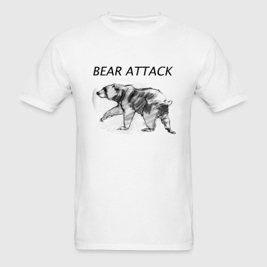 Bear Attack - Men's T-Shirt