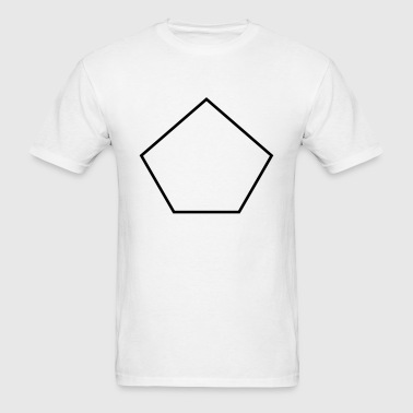 Pentagon shape - Men's T-Shirt