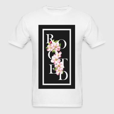 Rooted faith based shirts - Men's T-Shirt