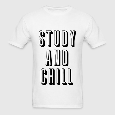 Study and Chill - Men's T-Shirt