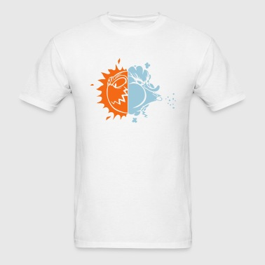 Hot Cold Weather Storm 2c - Men's T-Shirt