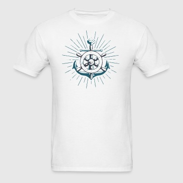 Anchor Wheel - Men's T-Shirt
