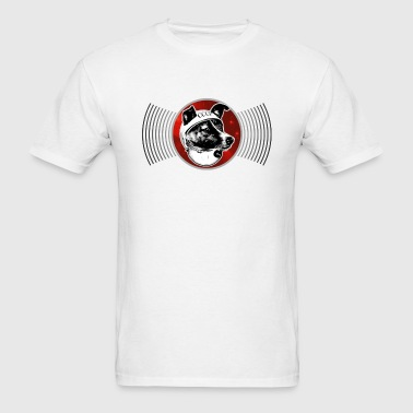Laika The Space Dog - Men's T-Shirt
