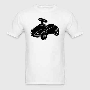 Kids Ride-On Car Silhouette - Men's T-Shirt