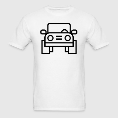 Jeep Car Truck Icon - Men's T-Shirt