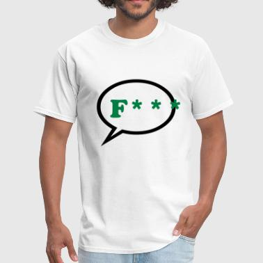 Speech bubble - Text - Men's T-Shirt