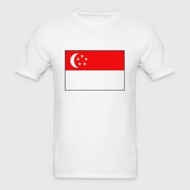 Singapore Flag - Men's T-Shirt