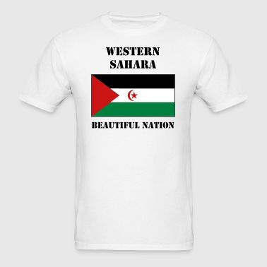 Western Sahara Flag - Men's T-Shirt