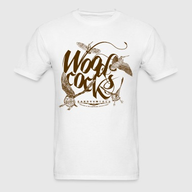woodcocks_on_white - Men's T-Shirt