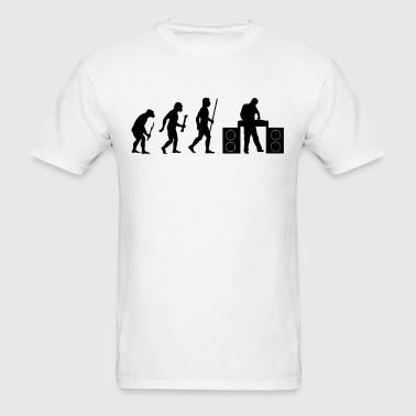Evolution of DJ - Men's T-Shirt