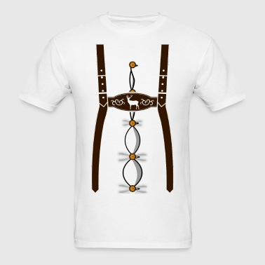 German Lederhosen - Men's T-Shirt