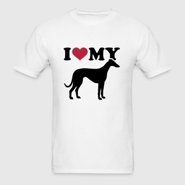 Italian Greyhound - Men's T-Shirt