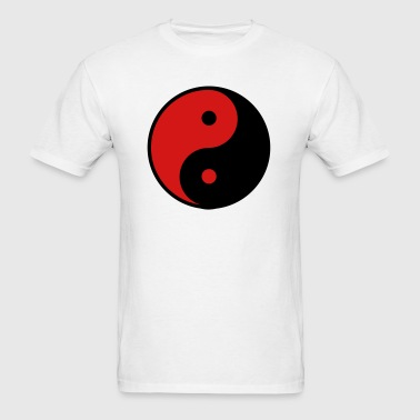 Yin Yang 2_color - Men's T-Shirt