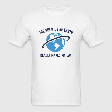 The Rotation Of The Earth - Men's T-Shirt