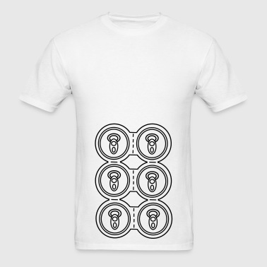 Six-pack Cans / Beer - Men's T-Shirt