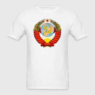 Soviet Coat of arms - Men's T-Shirt