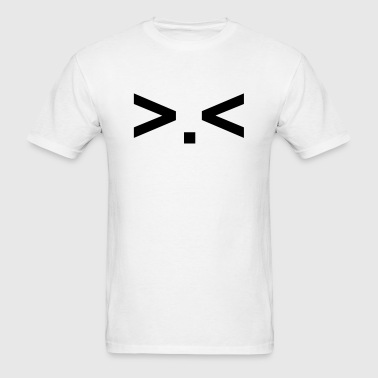 . anime emoticon face manga - Men's T-Shirt