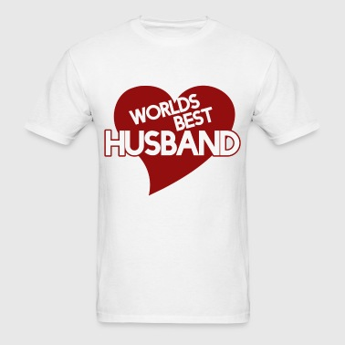Worlds best husband - Men's T-Shirt