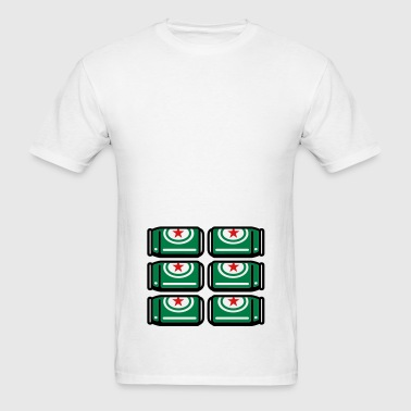 Real six pack - Men's T-Shirt