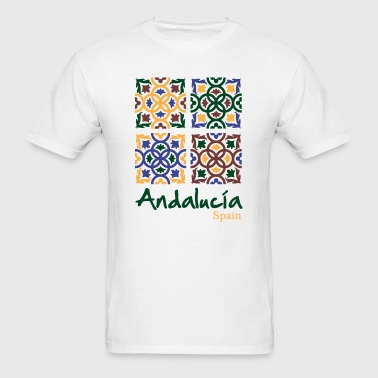 Andalusian Tiles 3 - Men's T-Shirt