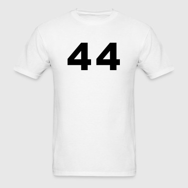Number - 44 - Forty Four - Men's T-Shirt