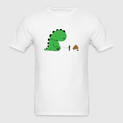 Dino - Dino Shit - Men's T-Shirt