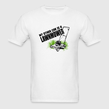 LAWNMOWER - MY OTHER CAR IS A LAWNMOWER - Men's T-Shirt