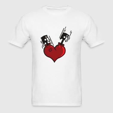Heart - Heart Pistons - Men's T-Shirt