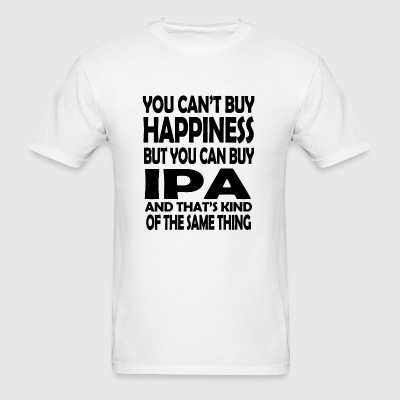 IPA - you can't buy happiness but you can buy IP - Men's T-Shirt