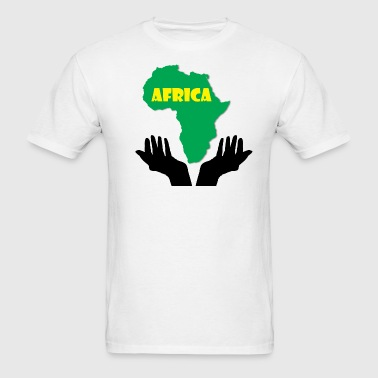 Save Africa Map - Men's T-Shirt