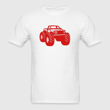 Monster Truck - Men's T-Shirt