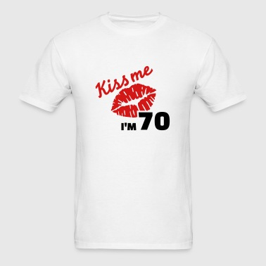70 birthday - Men's T-Shirt