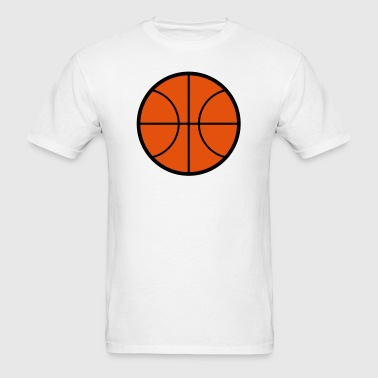 Basketball Icon - Men's T-Shirt