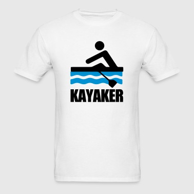 Kayaker (Kayaking) - Men's T-Shirt